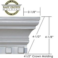 4 easy crown molding peel and stick coupon rr20 home 45 dentil crown molding fandeluxe Choice Image