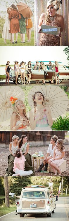 I want to do a vintage photo shoot with my girls!