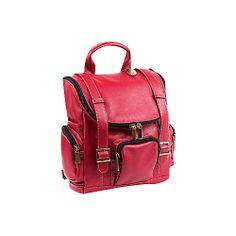 #Backpacks, #ClaireChase, #LaptopBackpacks - ClaireChase Portofino Laptop Backpack - Regular - Red