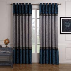 VIVOSUN 2 Panels Luxury Blockout Room Window Curtain Drapes Eyelet Grommet Top