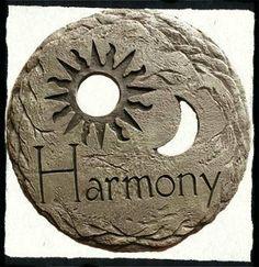 Garden Stepping Stone - Harmony