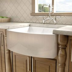 I pinned this Farmhouse Kitchen Sink from the Style Study event at Joss & Main!
