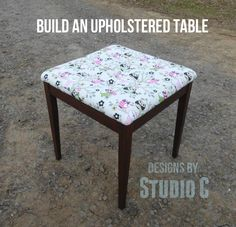 Build an Upholstered Table