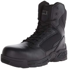 21aa105deec452 Magnum Men s Stealth Force 8 Side Zip Composite Toe Waterproof Military and Tactical  Boot