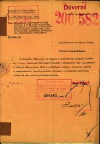 Firma Tiberghien synovia v Trenčíne - žiadosť o udelenie povolenia k zamestnaniu. (200582) | Vojenský historický ústav Bratislava
