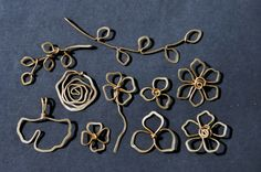 Free Wire Jewelry Tutorials | Some simple wire sculpted pendants/center pieces for new necklace ...