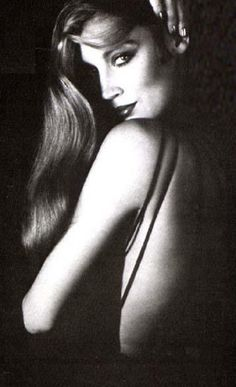 Jerry Hall photographed by Helmut Newton, 1970
