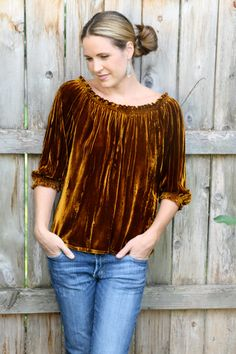 Hey, I found this really awesome Etsy listing at https://www.etsy.com/listing/176902988/the-velvet-peasant-blouse