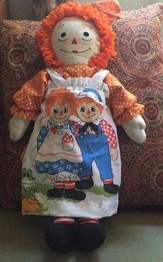 Dolls Dolls, Doll Toys, Sewing Clothes, Doll Clothes, Raggedy Ann And Andy, Bear Doll, Hello Dolly, Vintage Dolls, My Childhood