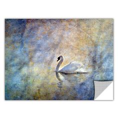 The Swan by David Kyle Art Appeelz Removable Wall Mural