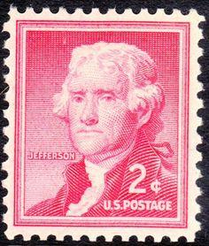 Thomas Jefferson Stamp