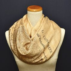 The Declaration of Independence Scarf/Shawl by UniversalZone