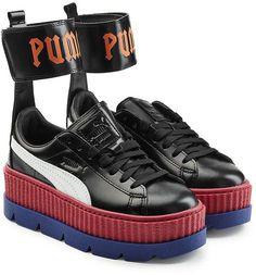 ea58d3cd2b2380 FENTY PUMA by Rihanna Ankle Strap Leather Creeper Sneakers Puma Fenty  Sneakers