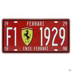 : Placa de Metal Ferrari 1929 30x15,5 cmClique para ver detalhes