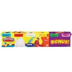 Play-Doh - Pack de 6 botes, juego de actividades creativas (Hasbro 23565148): Amazon.es: Juguetes y juegos