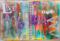 Bastelmania: Journal Pages, light and shadow