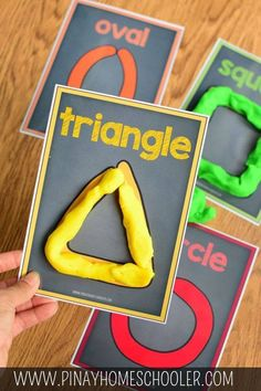Are your kids learning shapes, colors and counting? Simple fun and easy learning activity for toddlers and preschoolers. Perfect indoor activity to try! Preschool Learning Activities, Preschool Lessons, Preschool Classroom, Preschool Crafts, Toddler Activities, Homeschool Kindergarten, Activities For 3 Year Olds, Preschool Printables, Shape Activities For Preschoolers