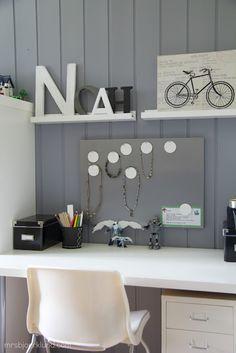Boys cool workspace - all Ikea