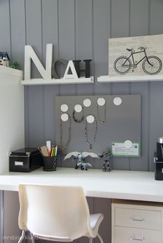Boys cool workspace - all Ikea