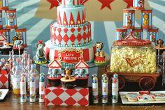 Adorable circus themed party