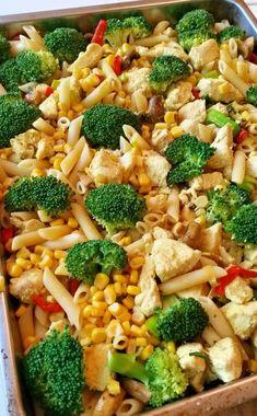 Pastagratang Med Kyckling Middag Kyckling Curry