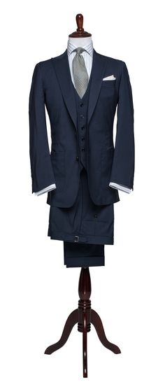 Articles of Style: Blue Stretch Wool