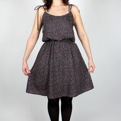 Sewaholic Saltspring Dress knielang