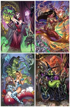likes.com sexy disney pictures | Sexy 2012 Disney Princess Pin-Up Calendar - by J. Scott Campbell http ...