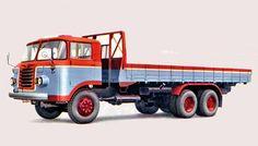 大型トラック Large truck