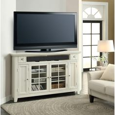 Darby Home Co® Yates Corner TV Stand