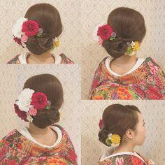 いいね!182件、コメント1件 ― yuna_tanaka⸝⸝◟̆◞̆♡hairarrangeさん(@yu_na1203)のInstagramアカウント: 「. . .和髪*\(^o^)/*! .. ... #和髪^ ^ #ヘアスタイル #髪飾り #アップ #ヘアアレンジ #ヘアメイク #ヘアセット#セットサロン #hairmake#beautiful…」