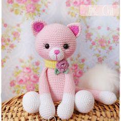 Amigurumi Pembe Ayıcık-Amigurumi Pink Bear | Tiny Mini Design