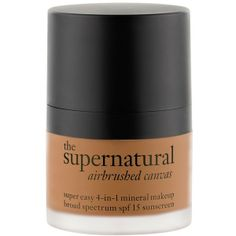 philosophy 'the supernatural airbrushed canvas' 4-in-1 mineral makeup... found on Polyvore