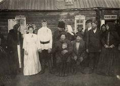 7-11-11 A wedding day. 1913.  Location: Krasnoyarsk Territory, Russia
