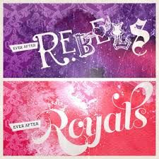 Image result for ever after high logo with are you a royal or a rebel