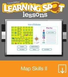 Fantastic for our first SS unit! Teaching History, Student Teaching, Classroom Inspiration, Classroom Ideas, 3rd Grade Social Studies, Teacher Notes, Teacher Stuff, Map Activities, Map Skills