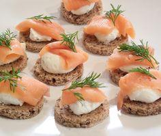 Smoked Salmon Bites Recipe