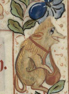 Bibliothèque de Périgueux, ms 0171, detail of f. 2r. Pontifical, use of Périgueux. 15th century