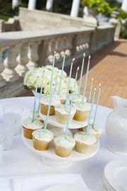 """Create that whimsical moment with our tall 6"""" or 15"""" candles."""