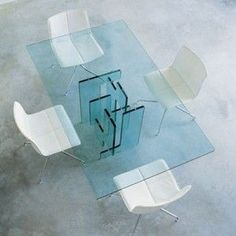 Mesas de vidrio para comedores
