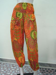 Women Ladies  Casual Harem Trouser Baggy Genie Aladdin Boho Hippie Yoga Pants #Unbranded #CasualPants
