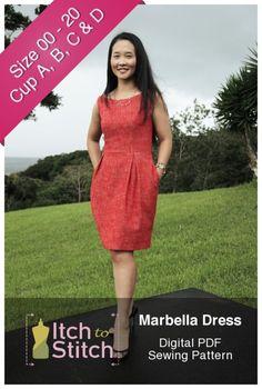 Marbella Dress PDF Sewing Pattern                                                                                                                                                                                 More