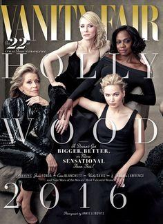 《自殺突擊隊》薇拉戴維絲、《年輕氣盛》珍芳達⋯⋯,每年春季《Vanity Fair》慣例推出的好萊塢特輯第21屆,由 Annie Leibovitz 將當年熱門演員同聚一堂拍攝封面拉頁大合照,為月底即將到來的奧斯卡炒熱氣氛!