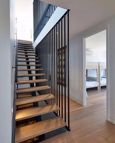 Blairgowrie Beach House by DX Architects - Blairgowrie Beach House by DX Architects - Duplex Design, Loft Design, House Design, Home Stairs Design, Interior Stairs, Modern Architecture House, Residential Architecture, Timber Stair, House Stairs