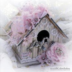 Mistra Hoolahan: Family First Bird House - Green Tara