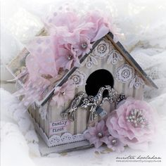 Mistra Hoolahan: Family First Bird House - Green Tara