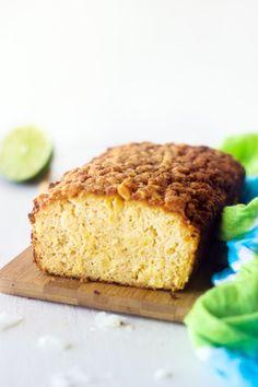 Coconut Lime Bread #glutenfree #paleo