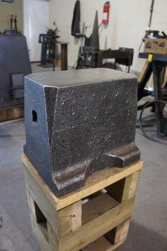 sawmaker's anvil made in Sweden by Soderfors
