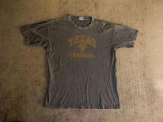 5bd830cc7 Distressed UT Shirt XL - Vintage University Of Texas T-Shirt Extra Large -  Super Distressed Longhorn