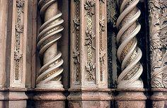 orvieto facciata particolare 1981